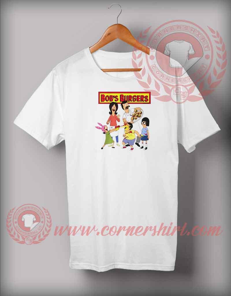 287bec14f Bob's Burgers Family T shirt - Cornershirt.com