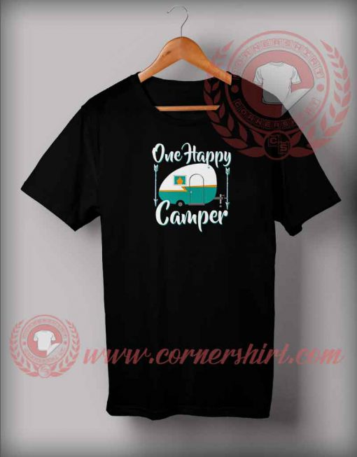 One Happy Camper T shirt