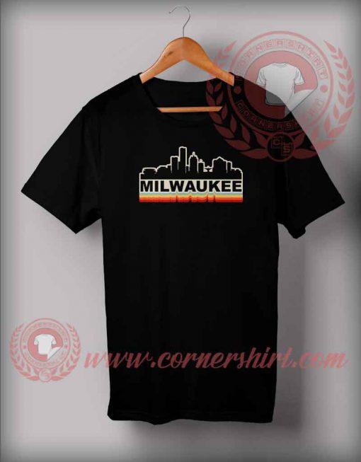 Milwaukee Retro Skylane T shirt