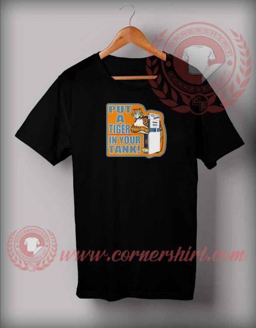 Vintage Esso Tiger Gas Tank T shirt