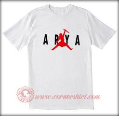 Arya Stark Air Jordan Parody T shirt