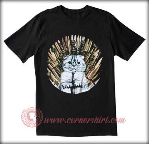 Cat Game Of Thrones T shirt